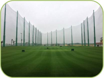 Pile and Net Systems for Golf Course