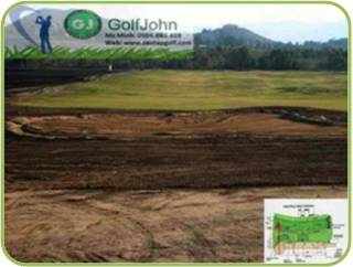 Surface and Face Construction for Golf Course