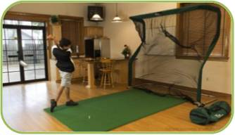 Indoor Chipping Net