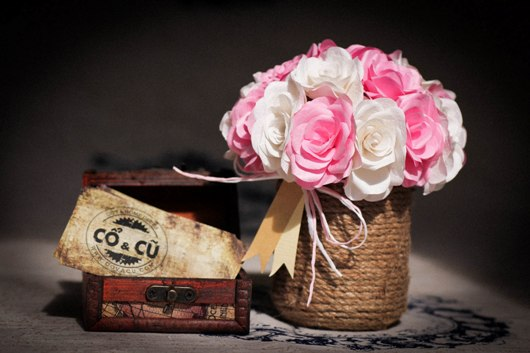 Hoa hồng handmade quà tặng 20/10