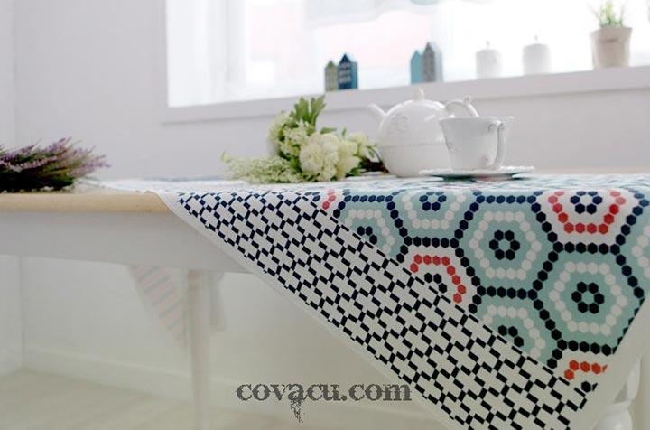 Vải Matric dùng làm khăn trải bàn