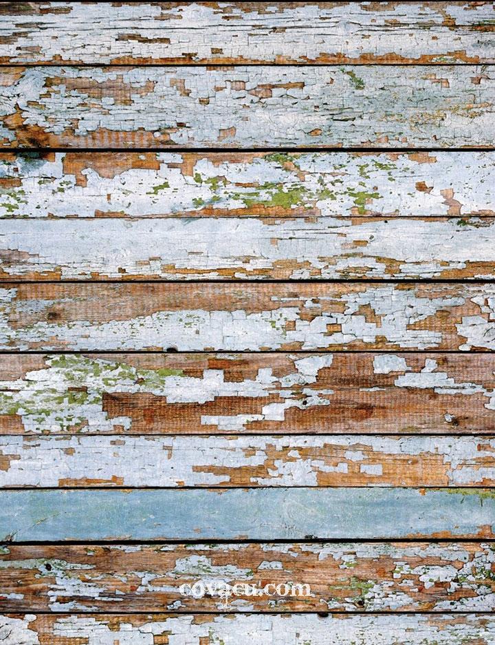 Phông nền chụp ảnh nền gỗ loang lỗ phong cách rustic