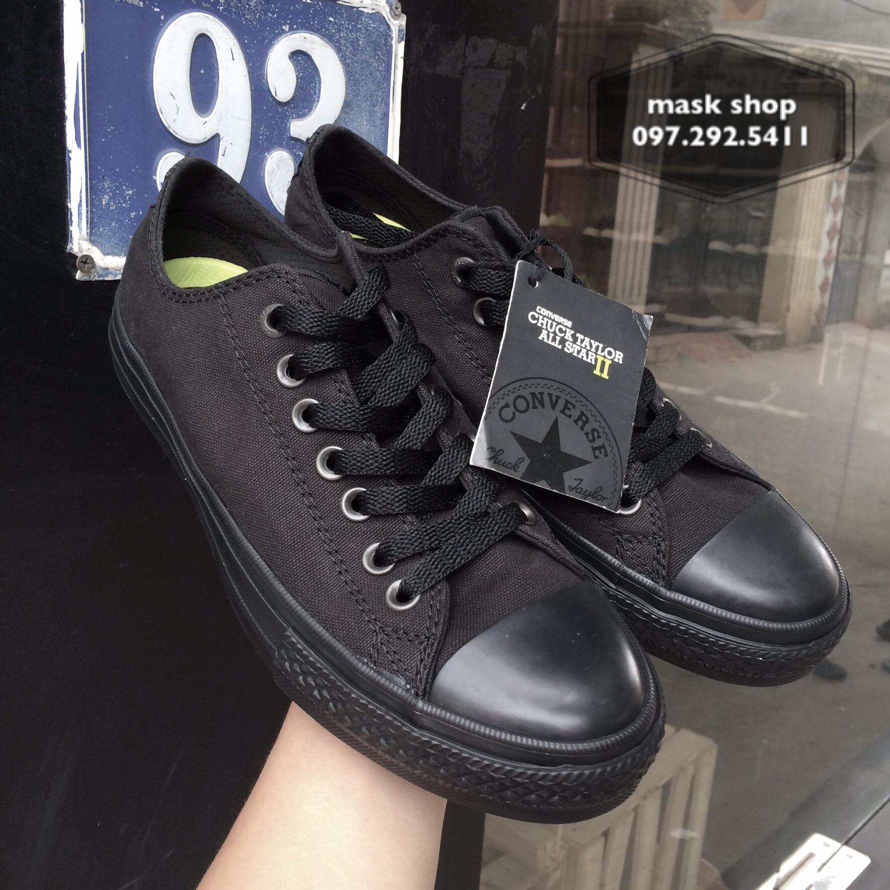 converse chuck 2 full black