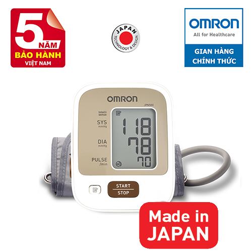 Máy đo huyết áp bắp tay Omron JPN500 (JPN-500)