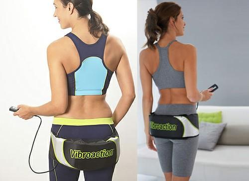 Máy rung giảm béo bụng, dây quấn bụng gỉam béo, đai đeo giảm mỡ bụng đùi mông X5, Vibro shape, vibro action loại 1 cao cấp