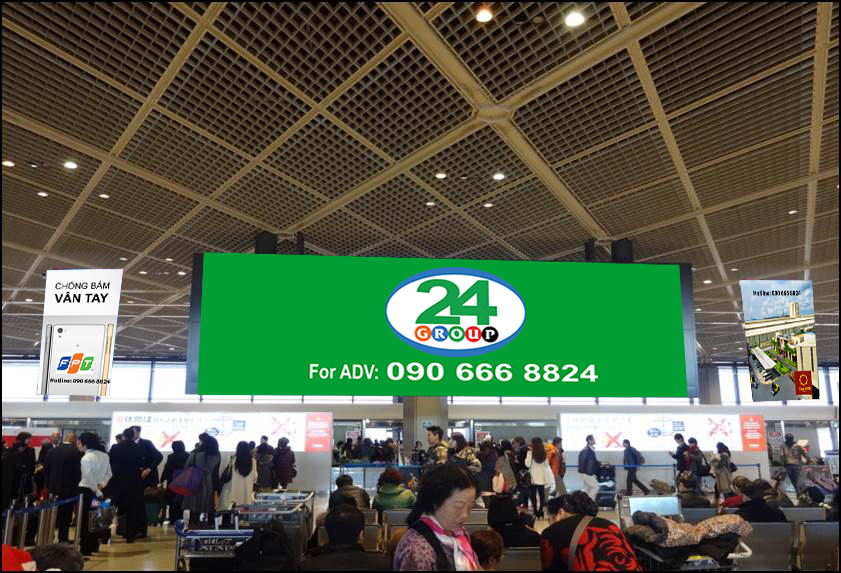 Banner Advertising - International Departure Terminal