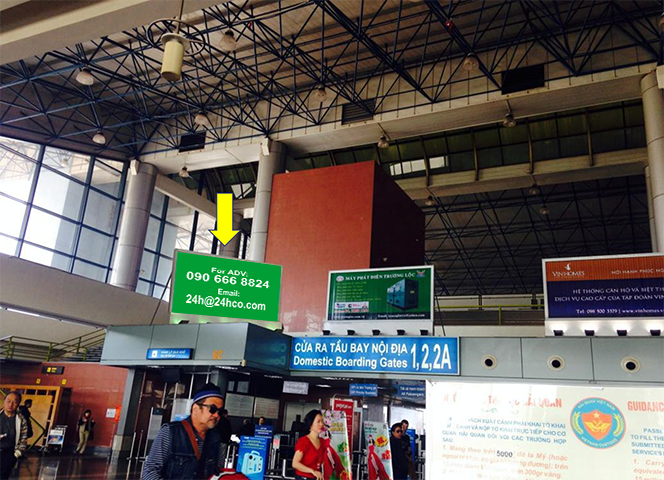 Airport Advertising in Noi Bai Airport