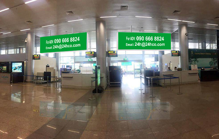 Lightbox - Domestic Departure Terminal - DaNang Airport