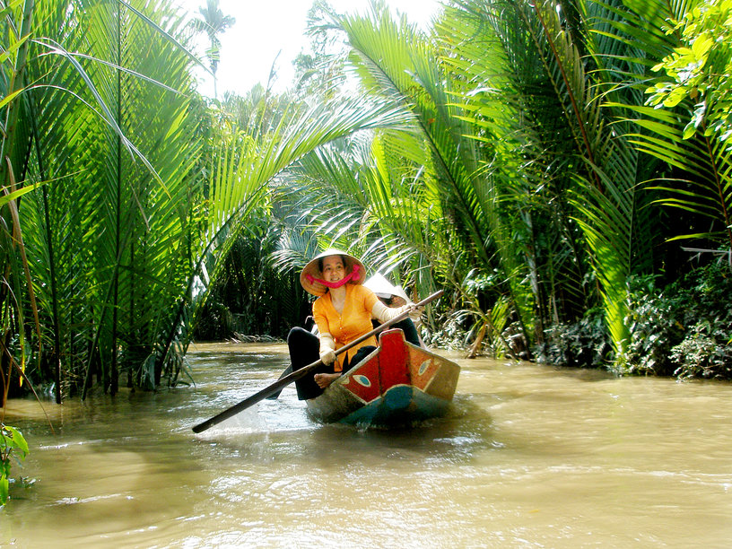 Mekong Delta (My Tho) with Lunch