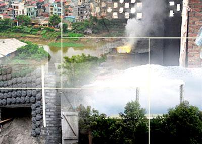 Ô nhiễm làng nghề