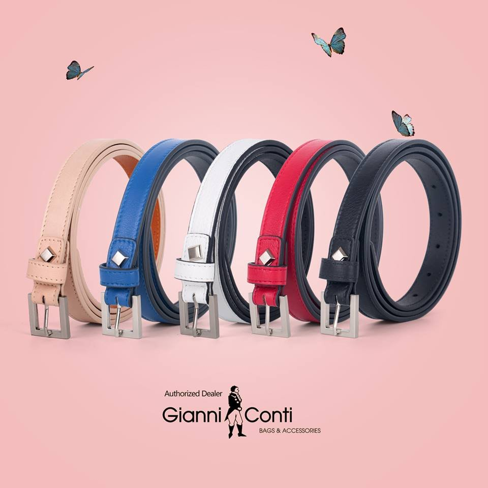 Thắt lưng nữ da bò cao cấp thương hiệu Gianni Conti