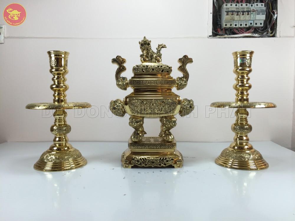 đồ thờ bằng đồng đài loan