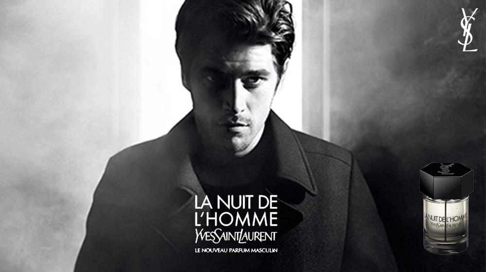 Nước hoa thật Yves Saint Laurent La Nuit De L'Homme Eau De Toilette.