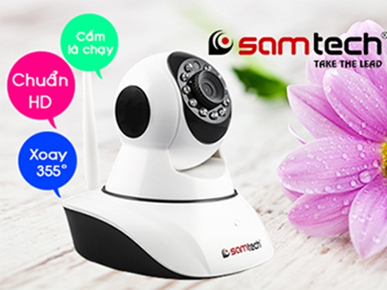 Review Camera IP wifi STN-2113 Samtech