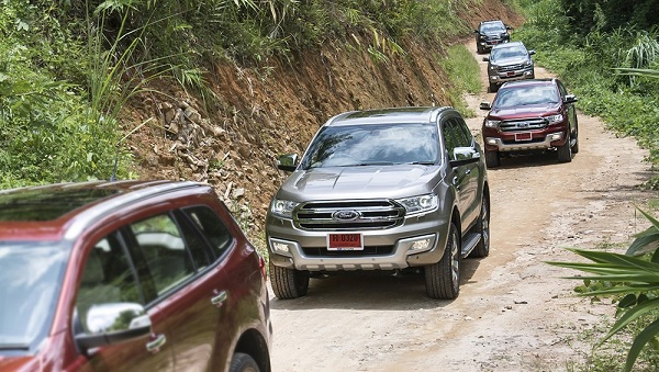 ford everest các loại