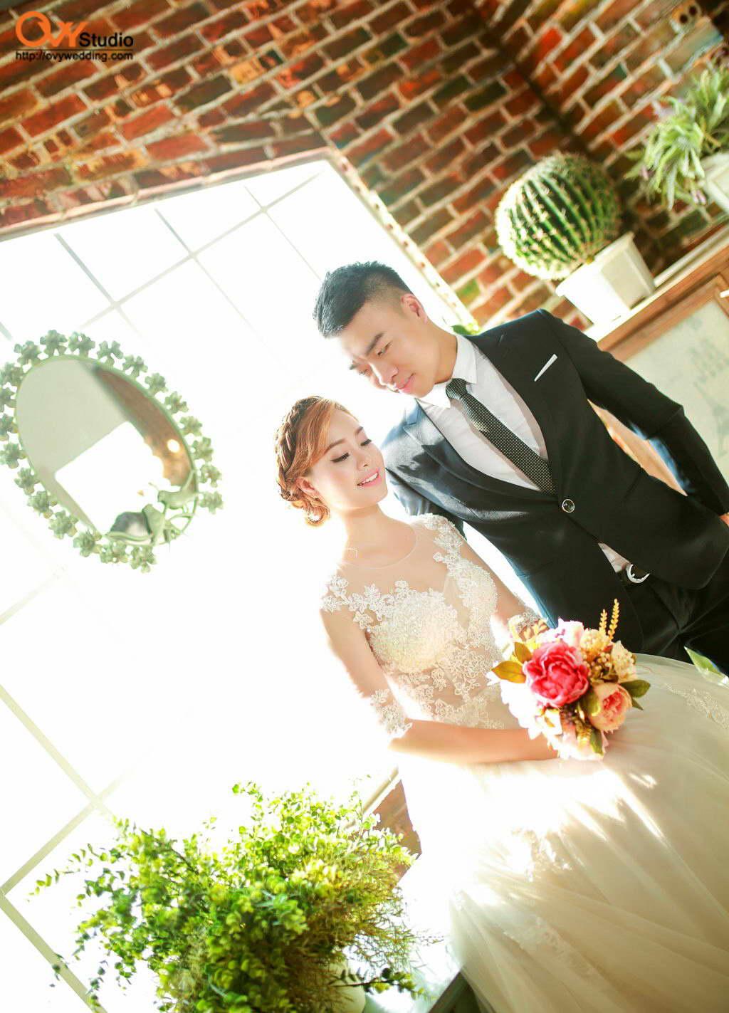 Chụp ảnh cưới tại các phim trường