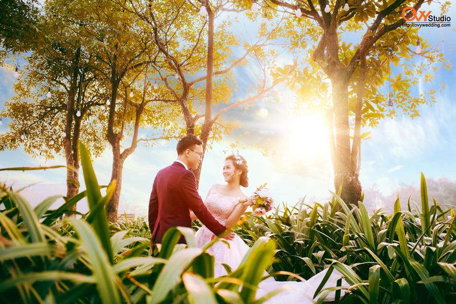 Chụp ảnh cưới đẹp với phong cách riêng