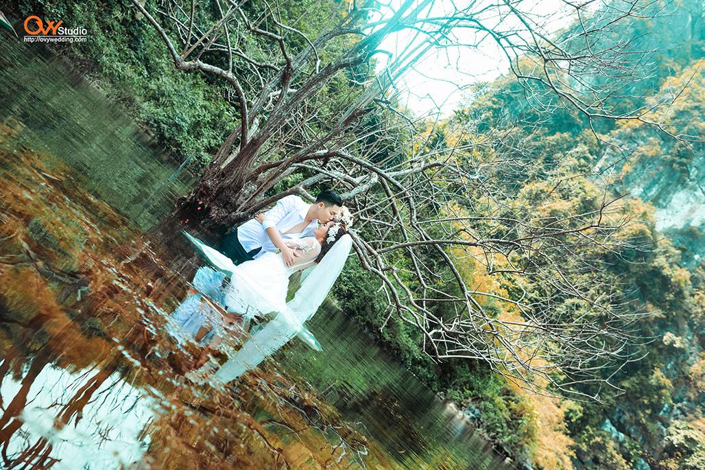 Chụp ảnh cưới ngoại thành Hà Nội