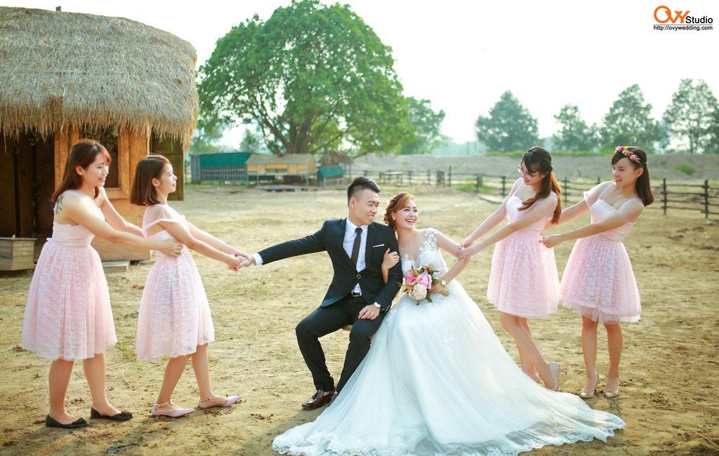 Tiết kiệm nhiều hơn khi chụp ảnh cưới trọn gói tại OVY Studio 3