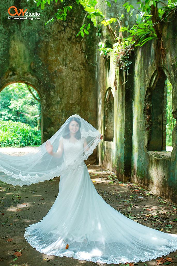 Kinh nghiệm chụp ảnh cưới tuyệt đẹp ở nhà thờ đổ Ba Vì