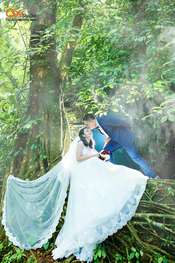 Những gợi ý không nên bỏ qua khi chụp ảnh cưới ở Ba Vì