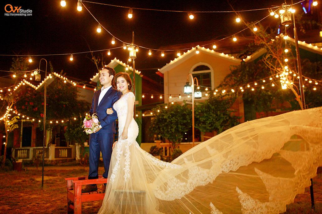 Chụp ảnh cưới ở phim trường Smiley Ville Đông Anh 5
