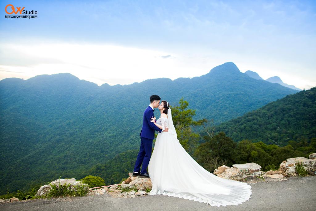 Chụp ảnh cưới đẹp mê hồn ở Tam Đảo