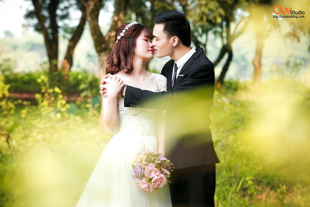 chụp ảnh cưới với OVY
