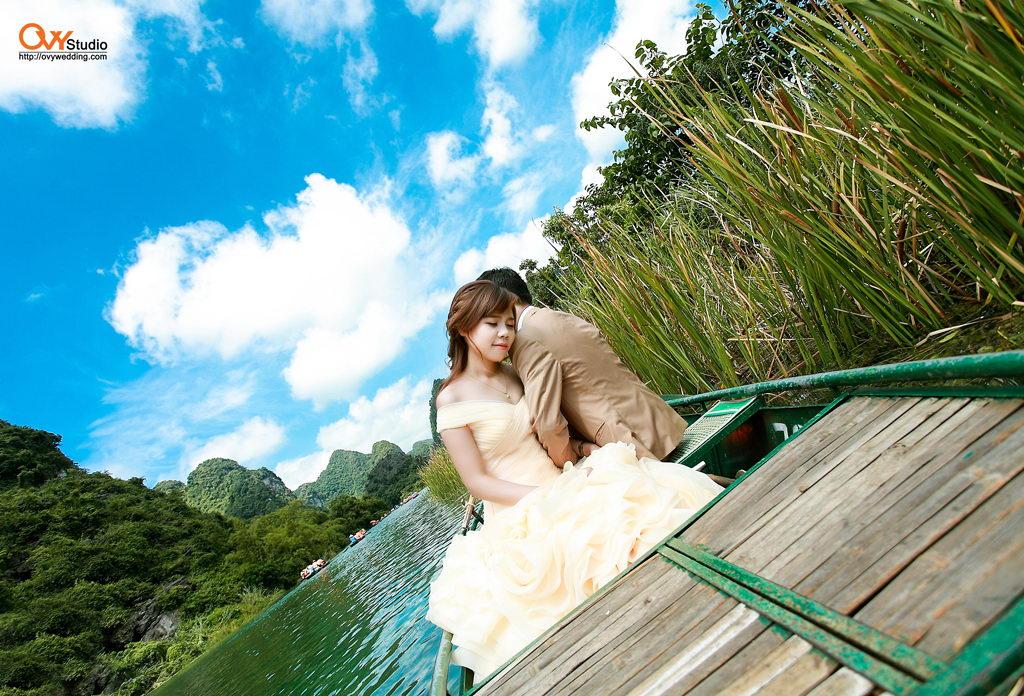 Chụp ảnh cưới đẹp ở Tràng An - Ninh Bình