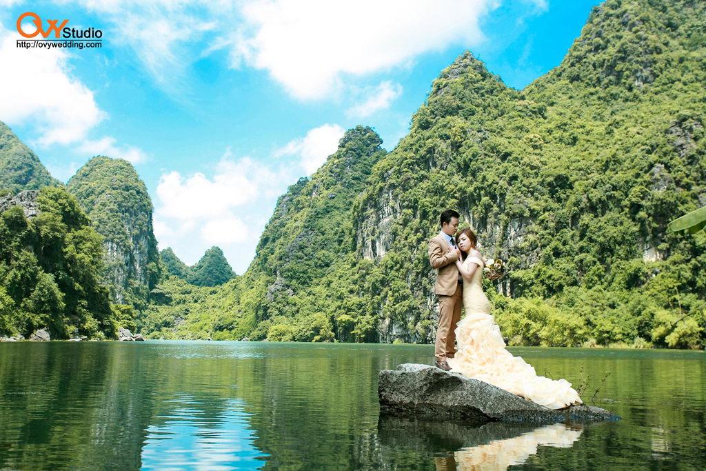 Chụp ảnh cưới đẹp tại Ninh Bình