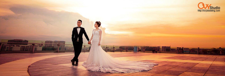 Phong cách chụp ảnh cưới khác biệt độc đáo