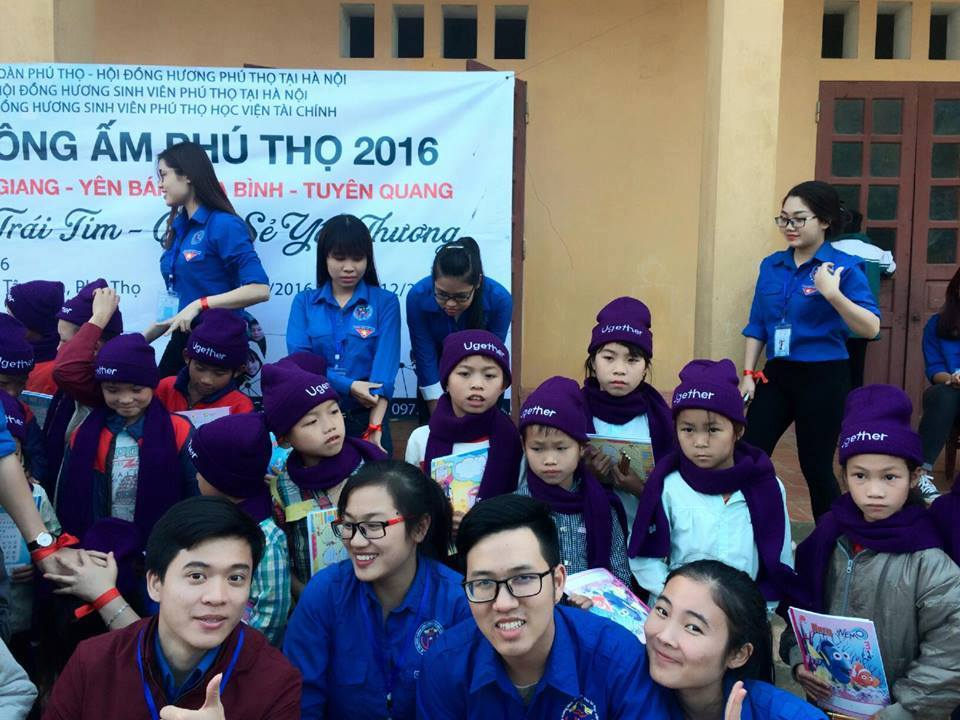 """WARM WINTER"" AT PHU THO PROVINCE - UGETHER WITH ""SHARING WARMTH, SHARING LOVE"" ON JANUARY 2017"
