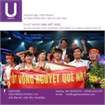 UGETHER PROVIDE CHEERLEADING T-SHIRTS  FOR QUANG TRI HIGH SCHOOL TO CHEER THE CHAMPION OF  THE ROAD TO MOUNT OLYMPIA 2015
