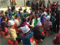 UGETHER BRINGS WARM COATS TO CHILDREN IN LAO CAI PROVINCE.