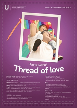 "PHOTO CONTEST ""THREAD OF LOVE""."