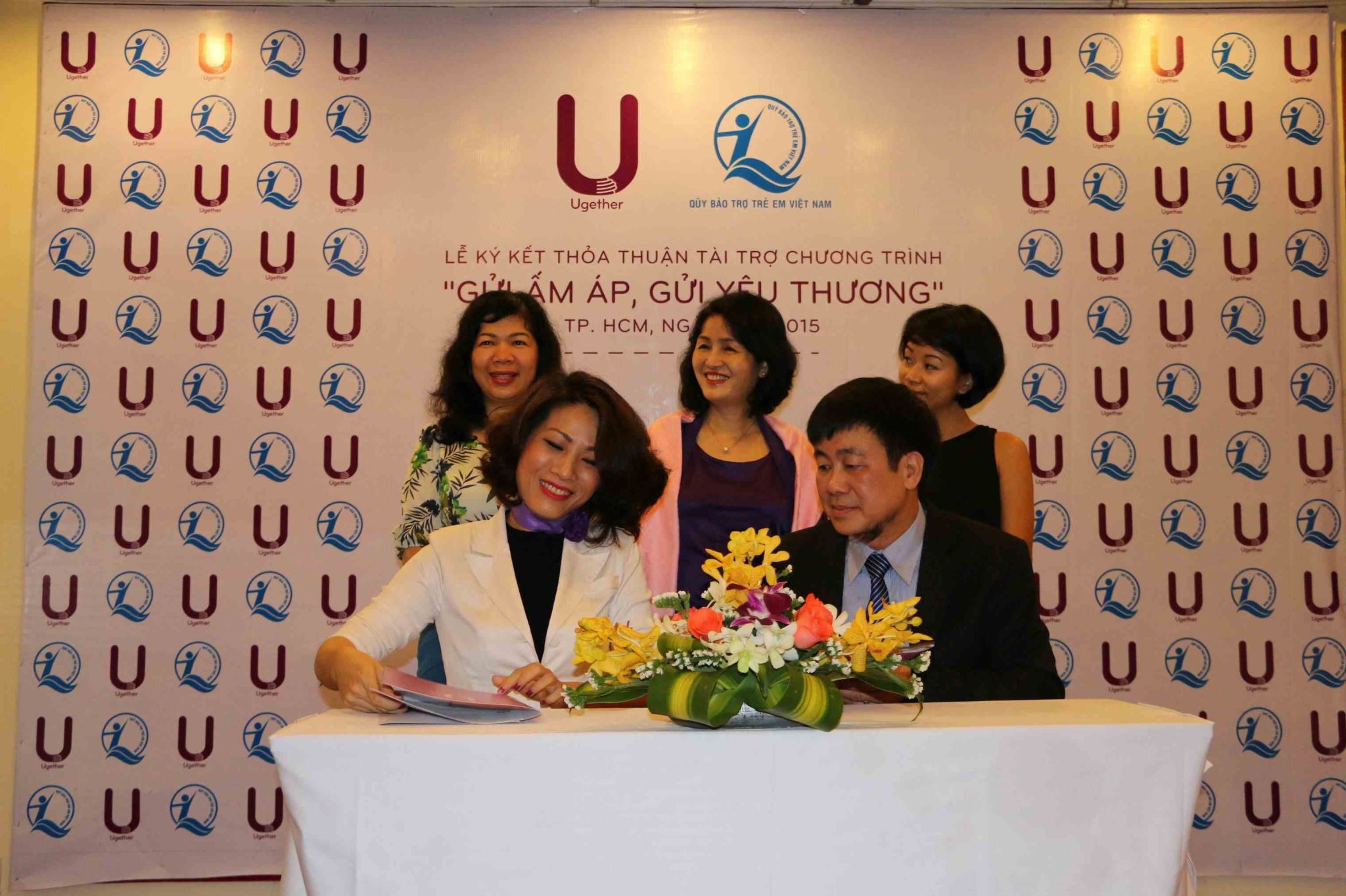 """SHARING WARMTH, SHARING LOVE"" FUND DONATION SIGNING CEREMONY"