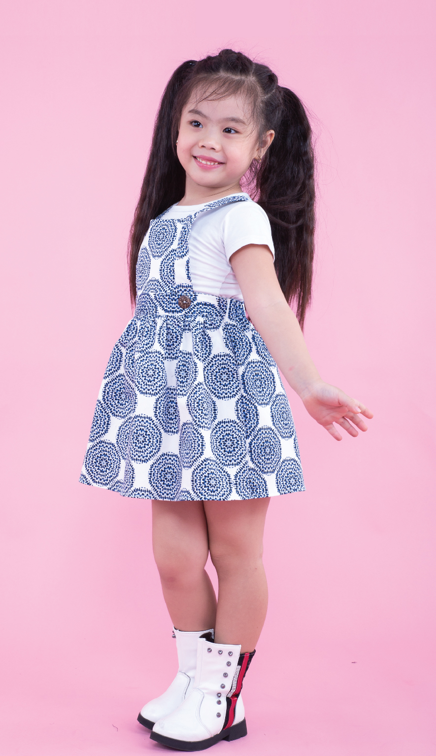 UKID161 - DUNGAREE SKIRT