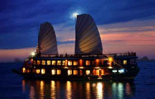 Indochina Sails Junk 3 Days 2 Nights