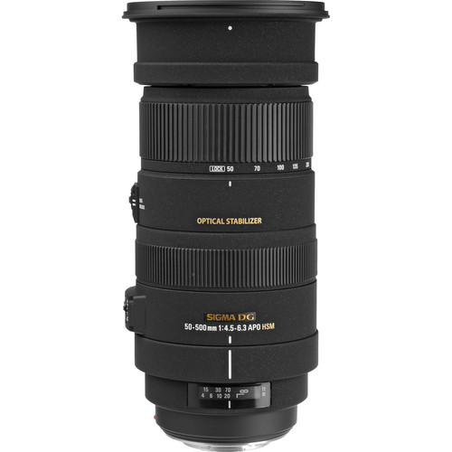 Sigma 50-500mm f/4.5-6.3 APO DG OS HSM for Canon