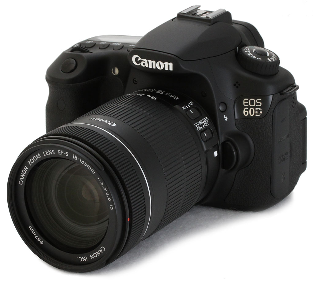 Canon 60D len kit 18-135mm IS