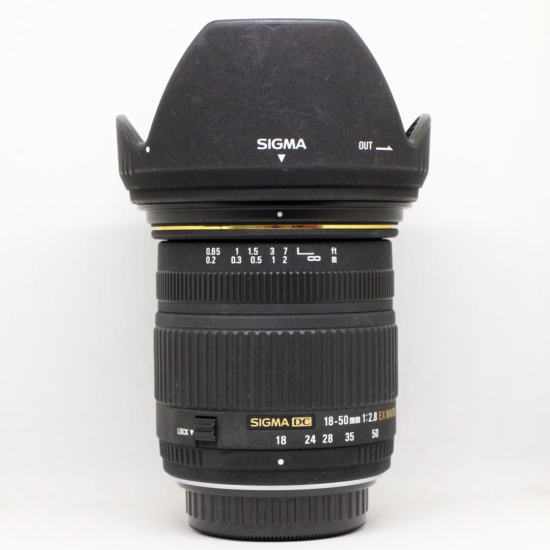 Sigma 18-50mm F/2.8 EX DC Lens for Canon