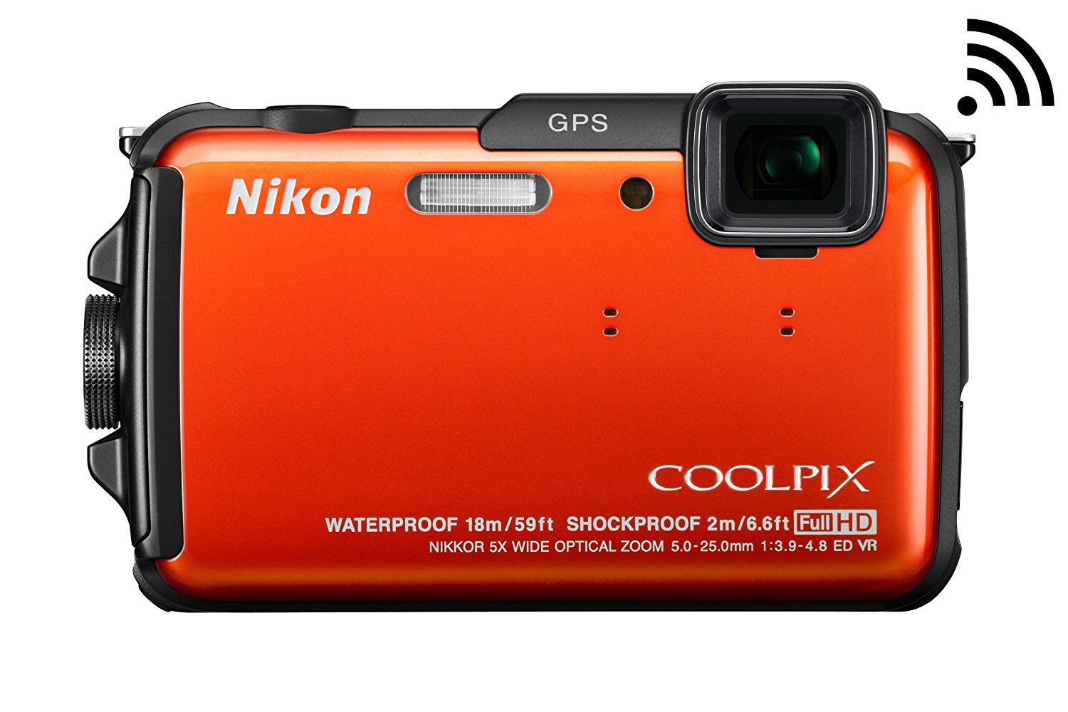 Nikon COOLPIX AW110 Wi-Fi and Waterproof