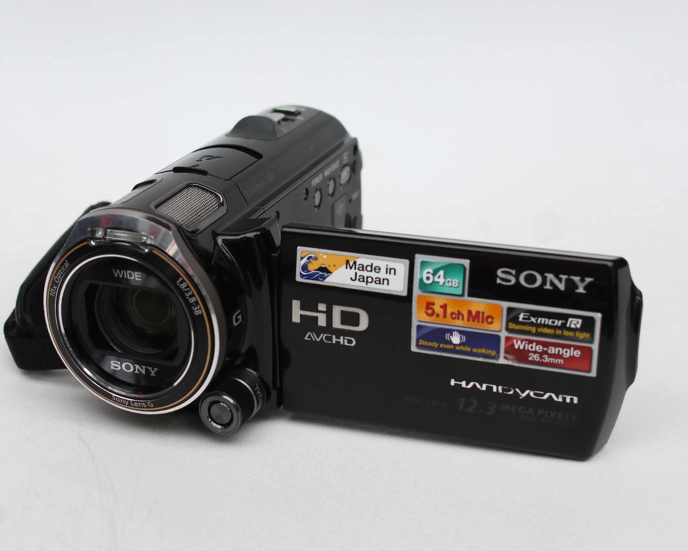 Sony HDR-CX560E Handycam 64gb