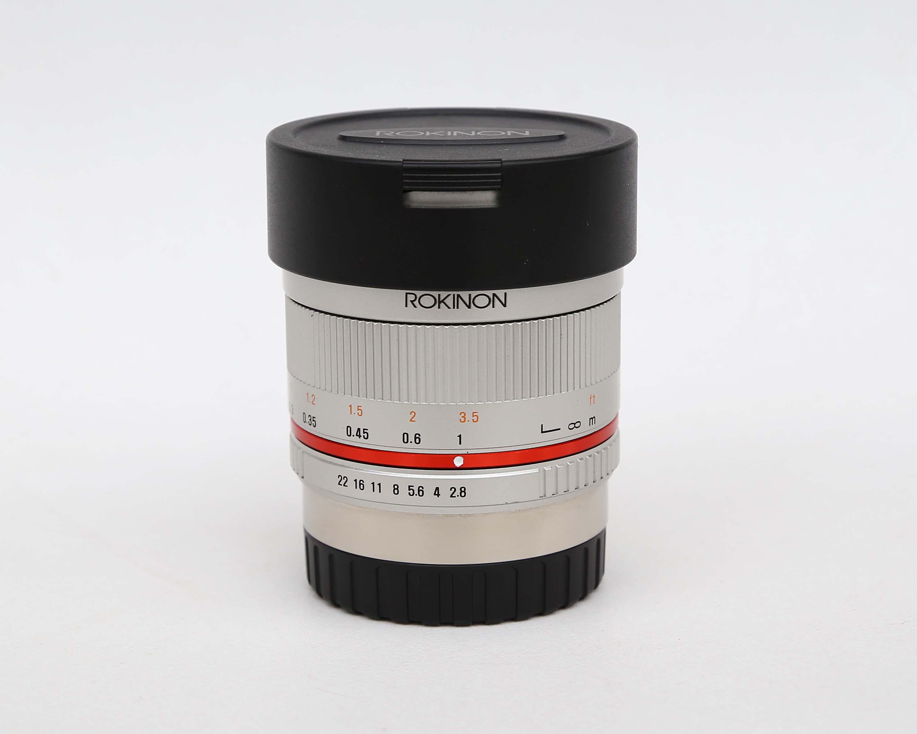 Rokinon 8mm f/2.8 UMC Fisheye II Lens for Fujifilm X Mount