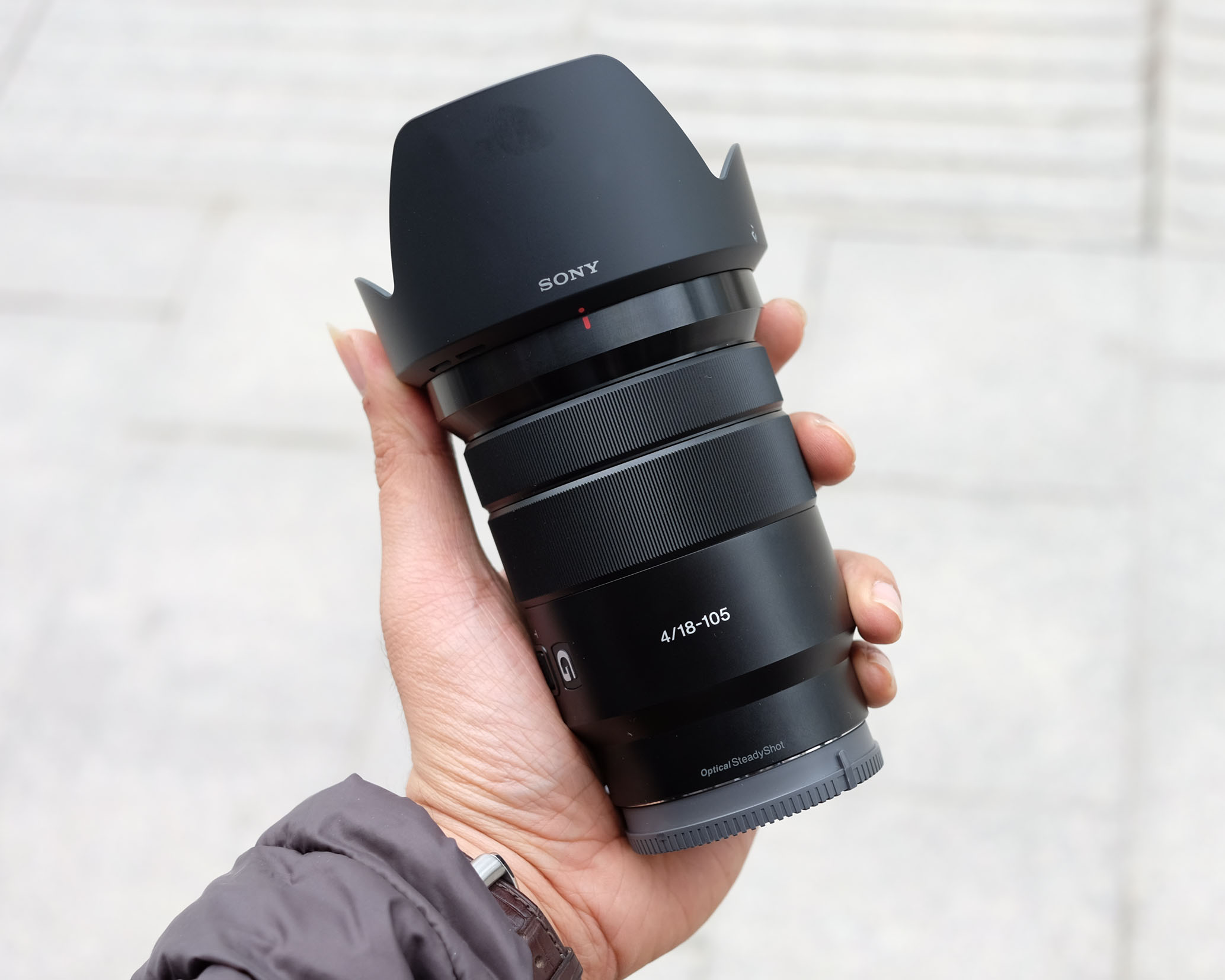 Sony E PZ 18-105mm f/4 G OSS