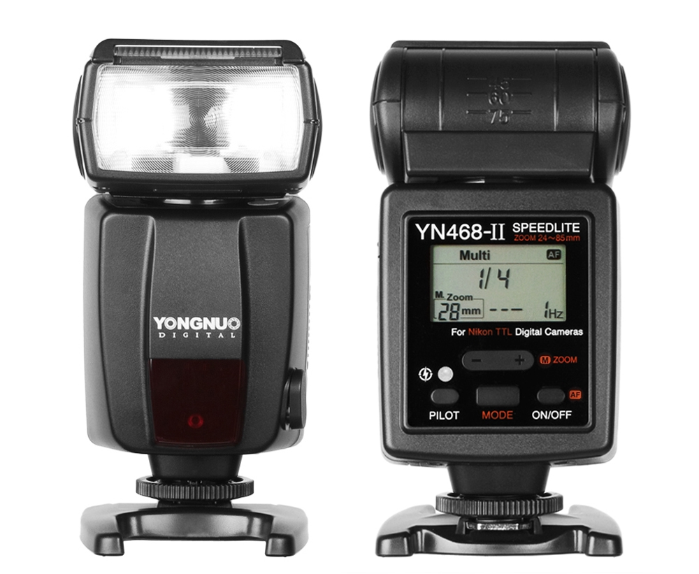 Đèn flash YongNuo YN-468 II E-TTL for Nikon