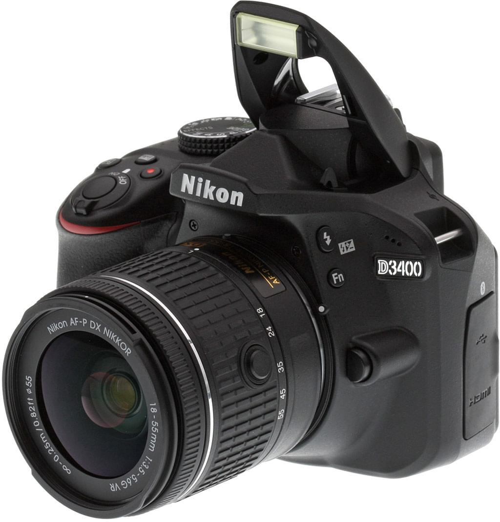 Nikon D3400 Kit 18-55mm VR II