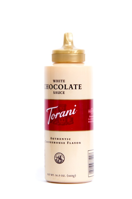 Sauce Torani White Chocolate 468gr.