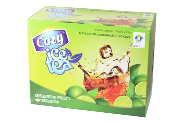 Trà Cozy Lemon Ice Tea.