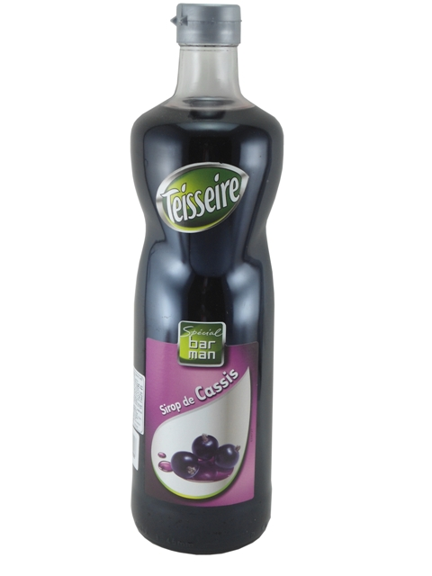 Syrup Teisseire Blackcurrant 1L.